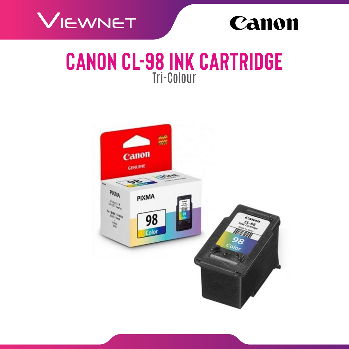 Canon PG-88 (Black), CL-98 (Color) Ink Cartridge