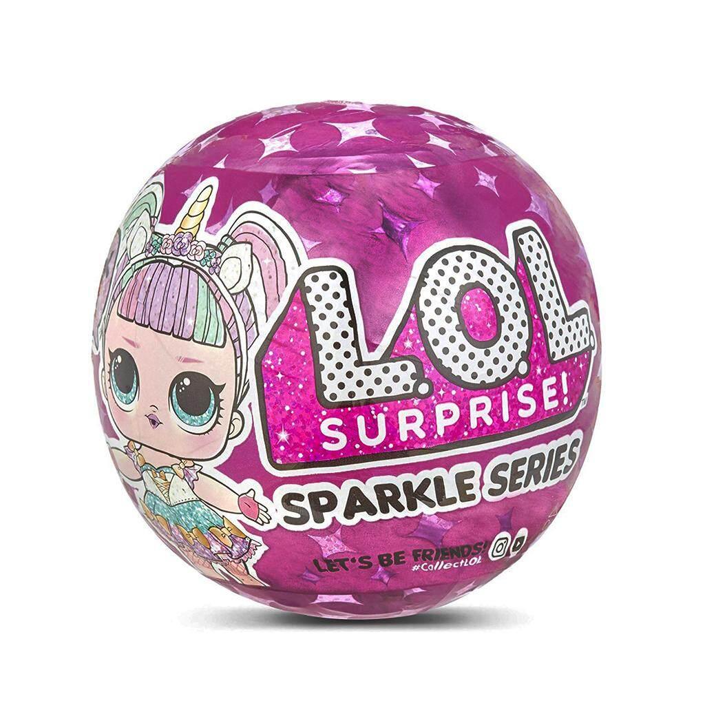 Surprise LOL Dolls Color Change Egg Confetti Pop Series Dress LOLS Doll Ball Action Figure Kids Toys For Children Christmas
