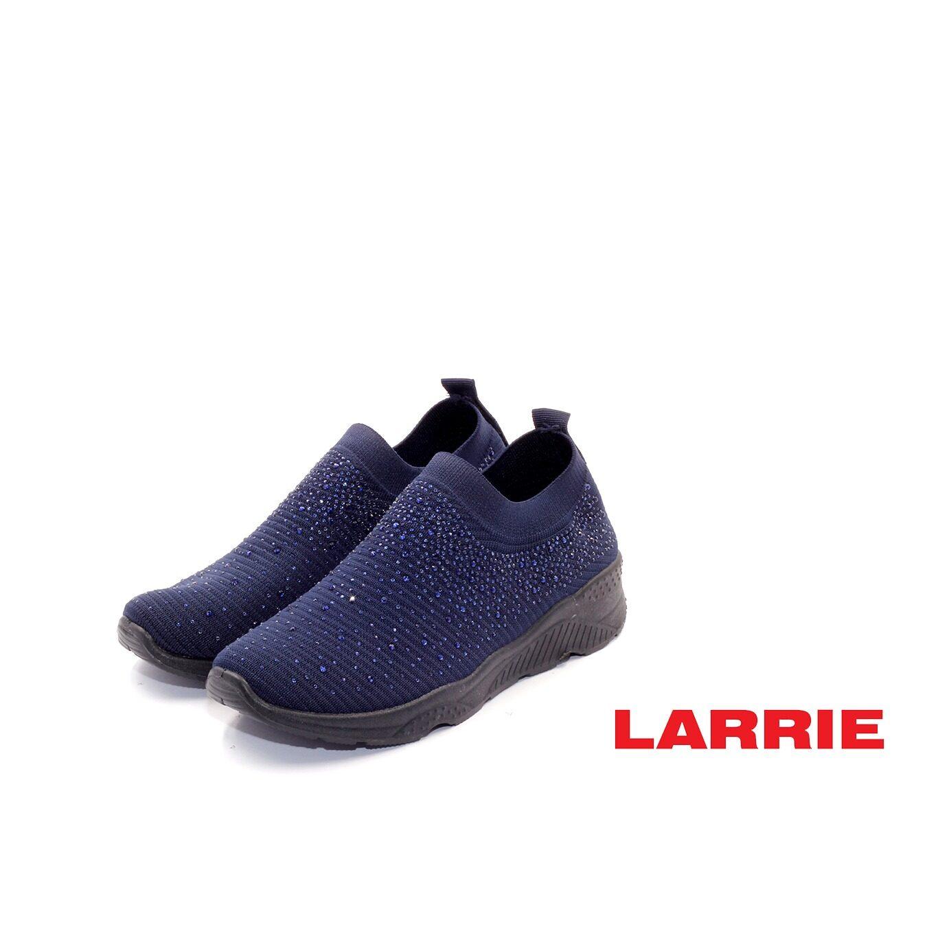 LARRIE Kasut Wanita Glitter Coated Fashion Sneakers Women (L62014-TF01SV)