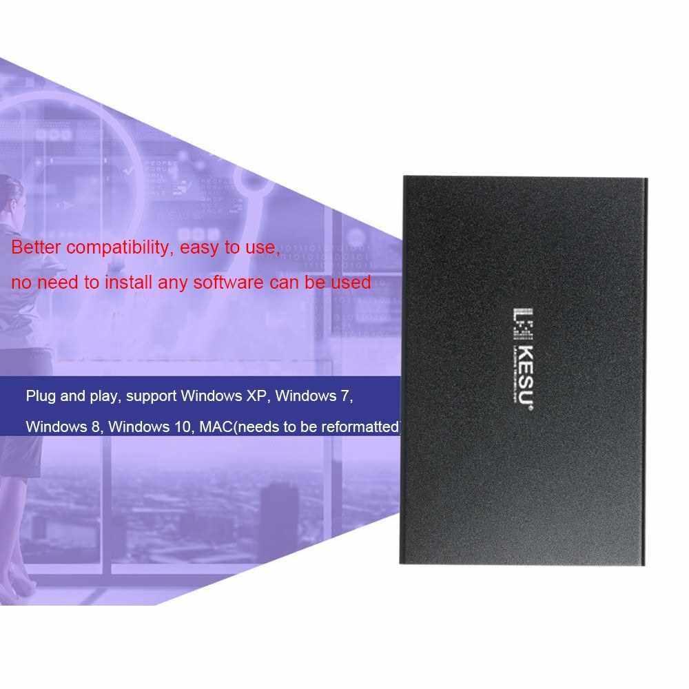 Portable External Hard Drive USB 3.0 120G.160G.250G.320G.500G HDD External HD Hard Disk for PC Black&160G (02)