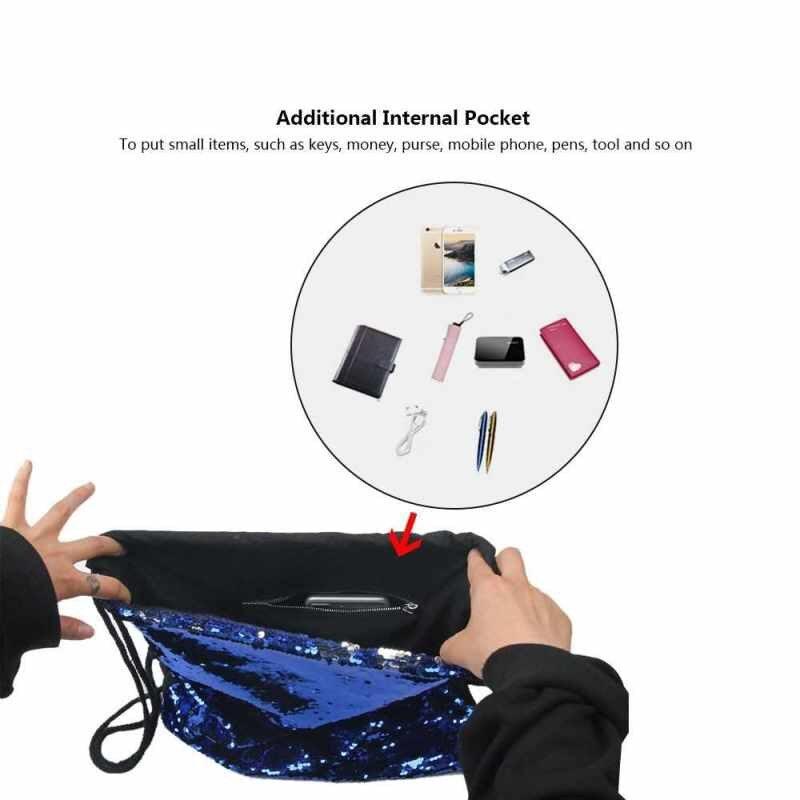 [Clearance] Women Cosmetic Bags Fashion Glittering Dance Bag