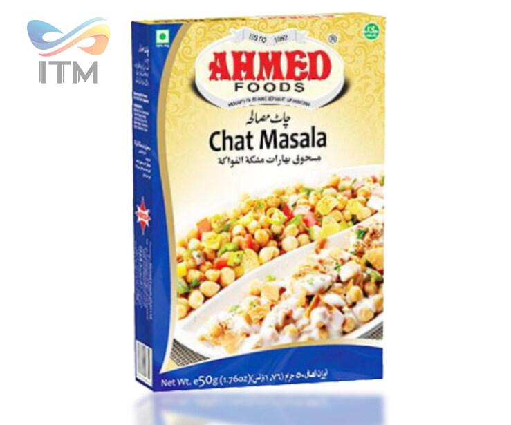 AHMED CHAT MASALA VALUE PACK 50GM+ 50GM