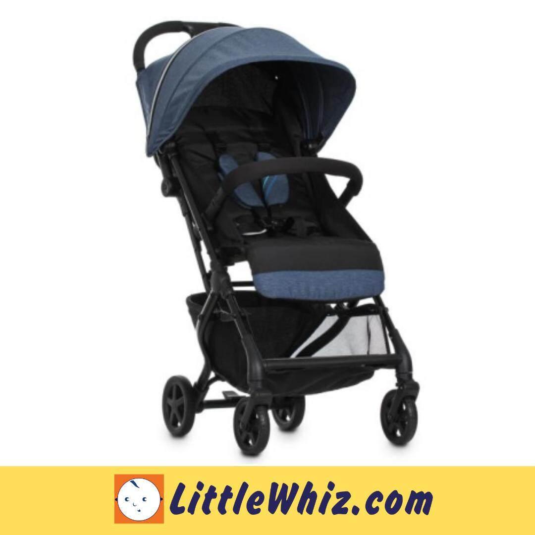 Evenflo: Pilot LX Compact Travel Stroller - BLUE