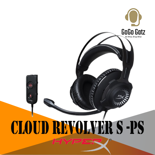 {HX-HSCRS-GM/AS}{Ship Out Within 24 Hours} HyperX Cloud Revolver S Headset - Compatible with: PC, PS4