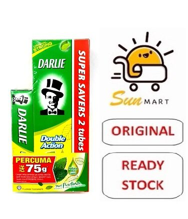 DARLIE DOUBLE ACTION TOOTHPASTE VALUE PACK