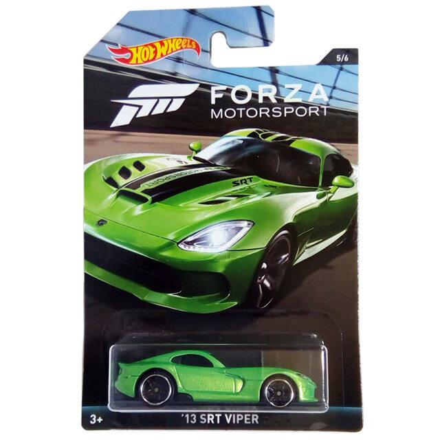 HOT WHEELS 2017 Forza Motorsport '13 SRT Viper (Satin Green)