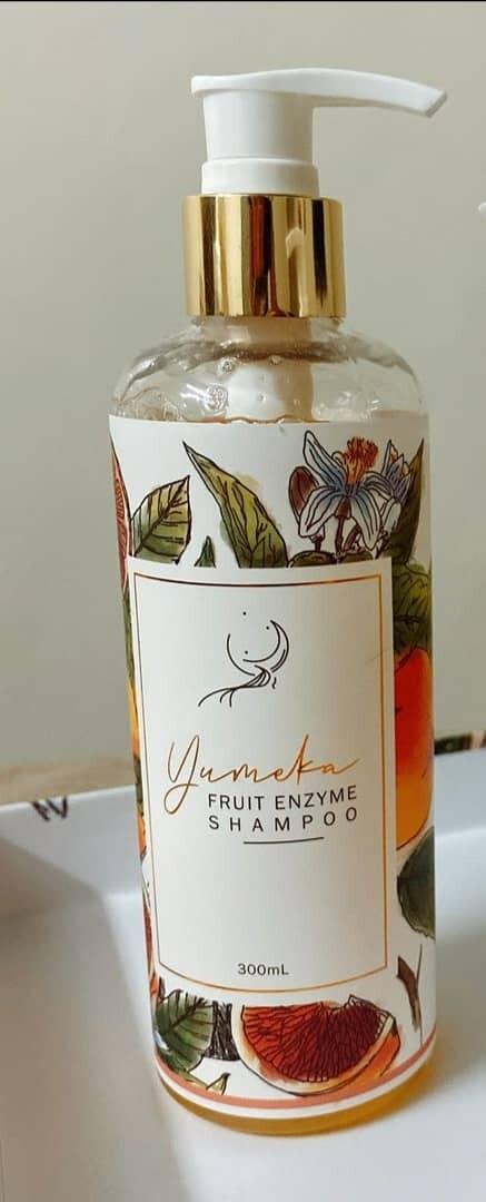 【春节配套】YUMEKA 水果酵素头皮洗发水+护发素
