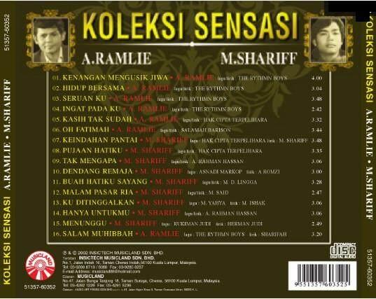 A.Ramlie & M.Shariff Koleksi Sensasi CD