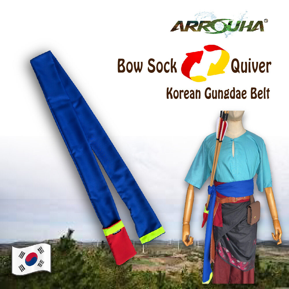 Korean Gungdae Three in One Bow Sleeve Quiver and Belt