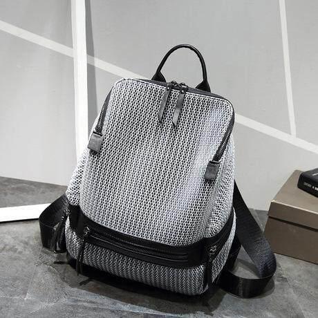 Female shoulder bag large capacity breathable lightweight backpack