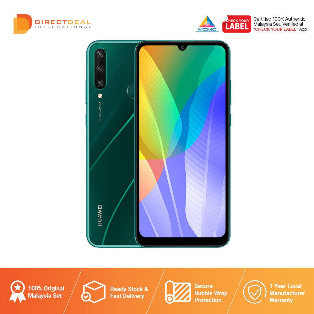 Huawei Y6P 4GB+64GB Smartphone - 1 Year Warranty By Huawei MY (MY SET)