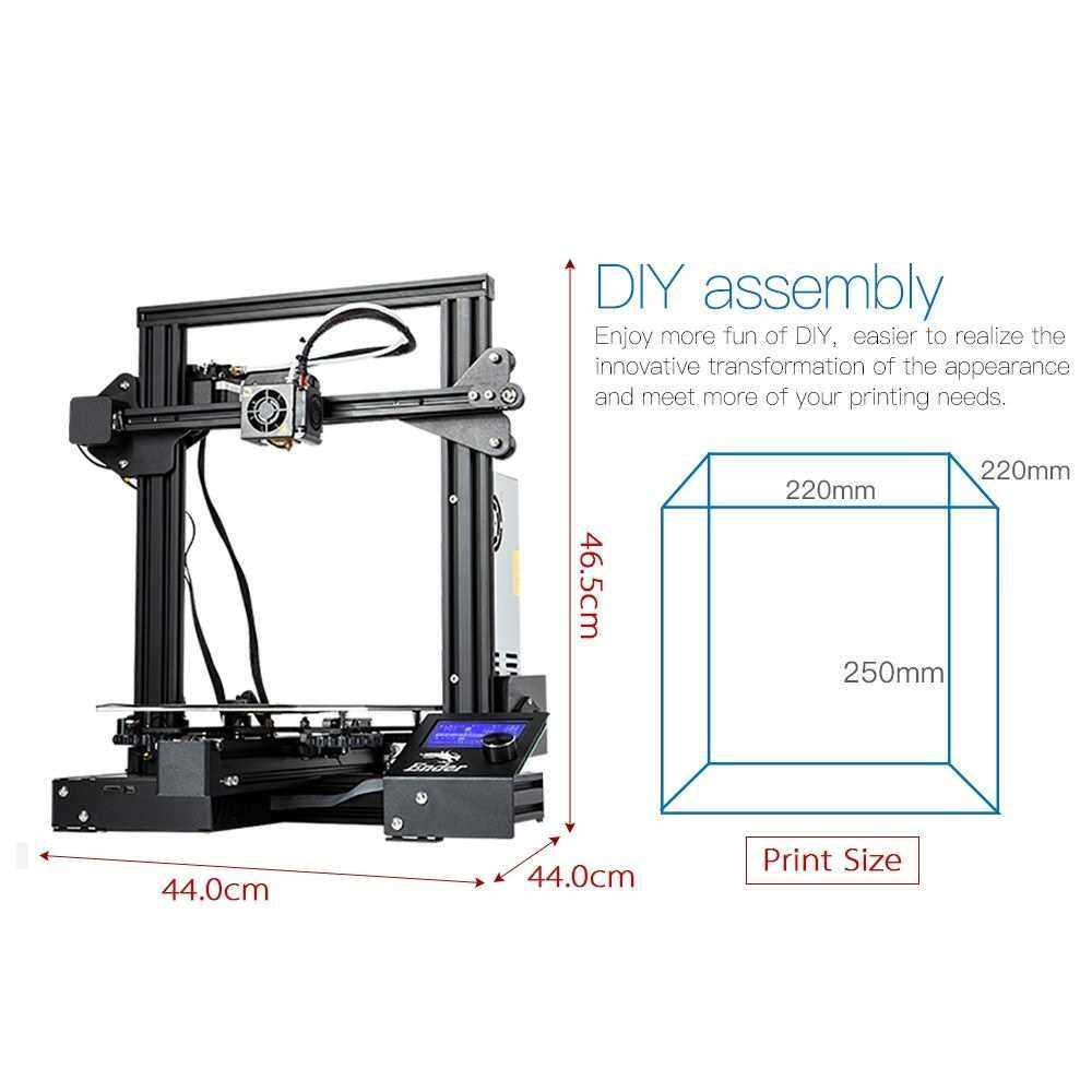 Original Creality 3D Ender 3 Pro High Precision 3D Printer DIY Kit 220*220*250mm Printing Size Local warranty (EU Plug)