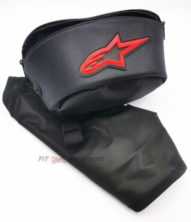 Motor Waterproof Handlebar Bag Handphone GPS Pouch Free Rain Cover Dainese & Alpinestar RS150 MT15 Y15ZR EX5 LC135 FZ150 VF3i RFS150 Dash R15 / Pouches / Motor Accessories
