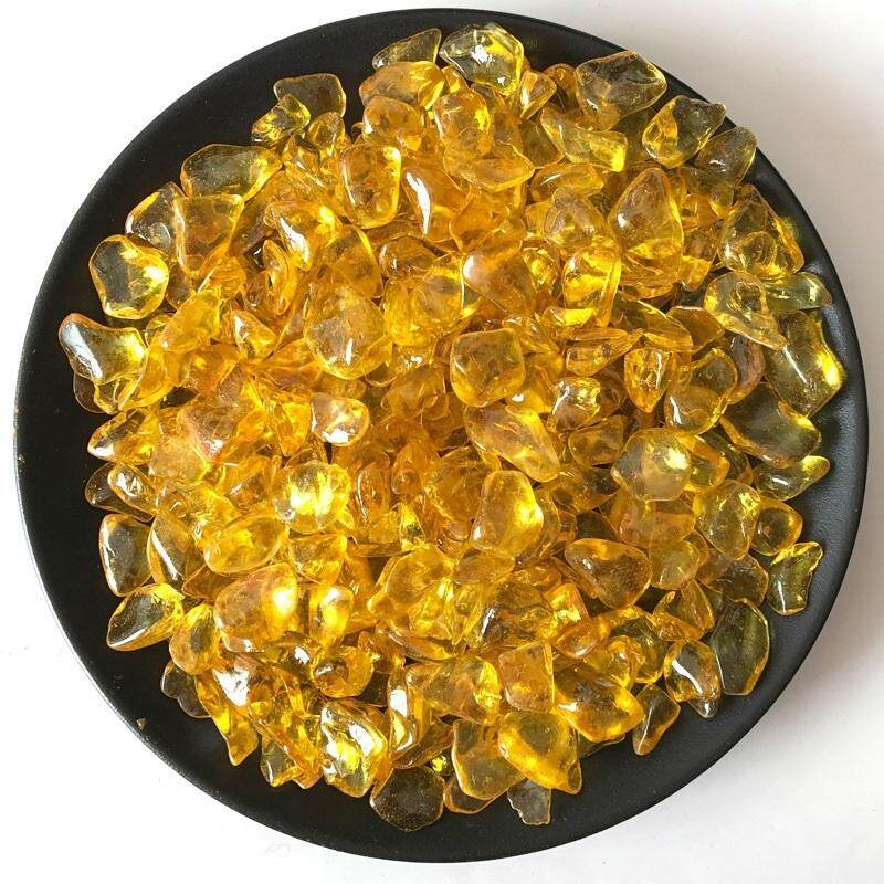 Synthetic Coloring Yellow Gold Citrine Quartz Crystal/ Mineral Crystal/ Crystal Stone/ Healing Material Crafts