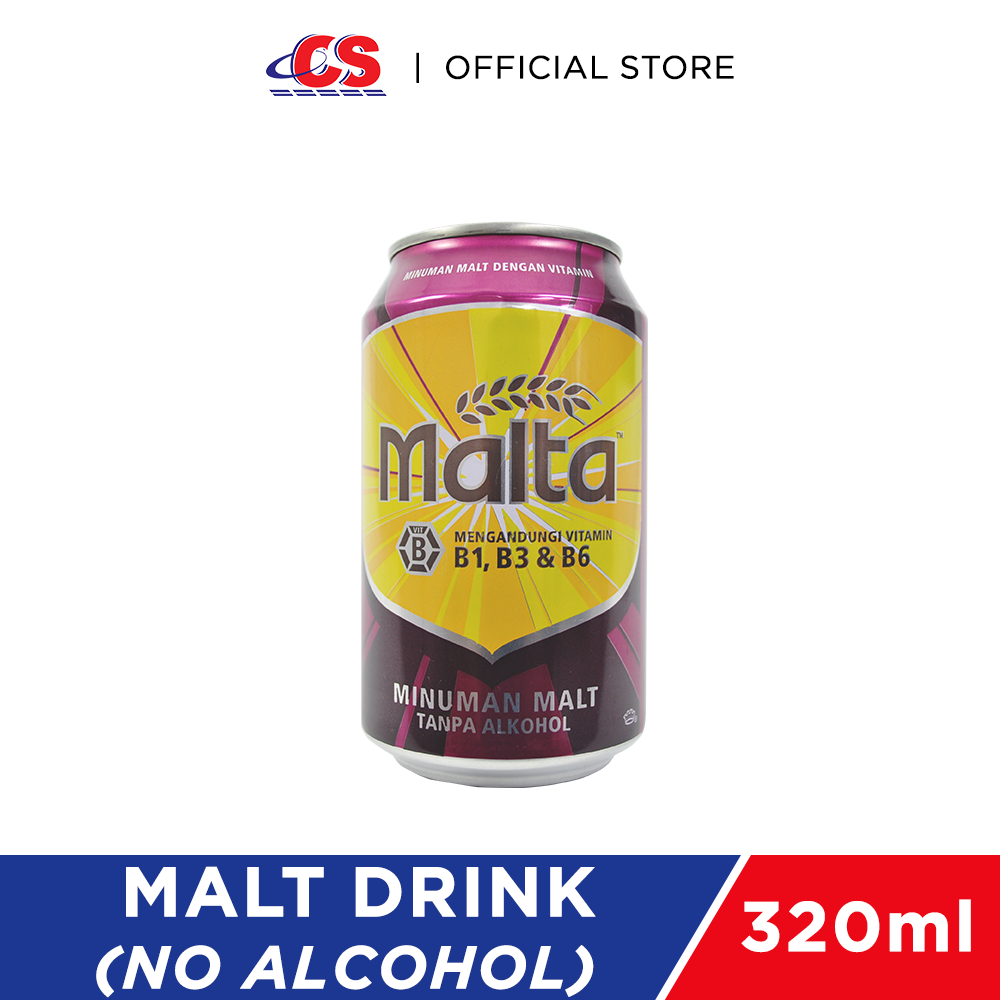 MALTA Malt Drink Can 320ml