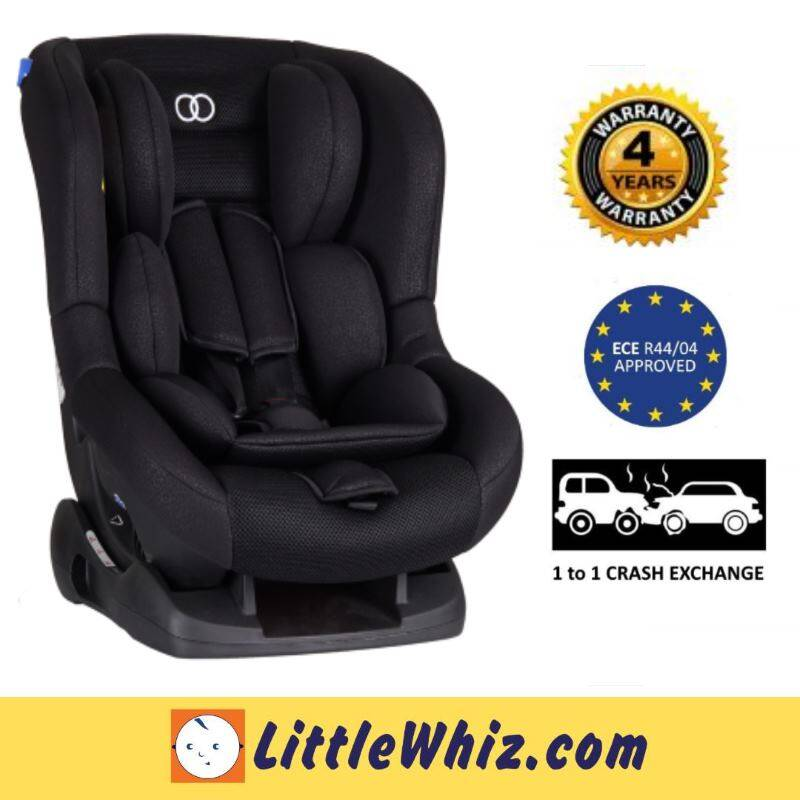 Koopers: Pago Convertibe Car Seat - BLACK