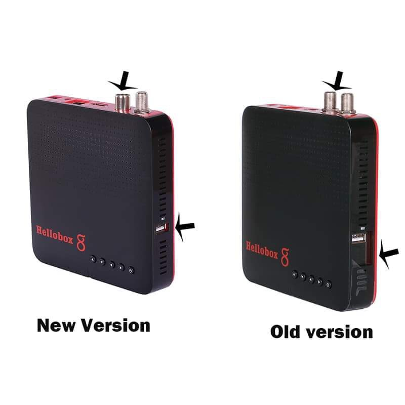 HELLOBOX 8 S2T2 COMBO & Built-In WIFI