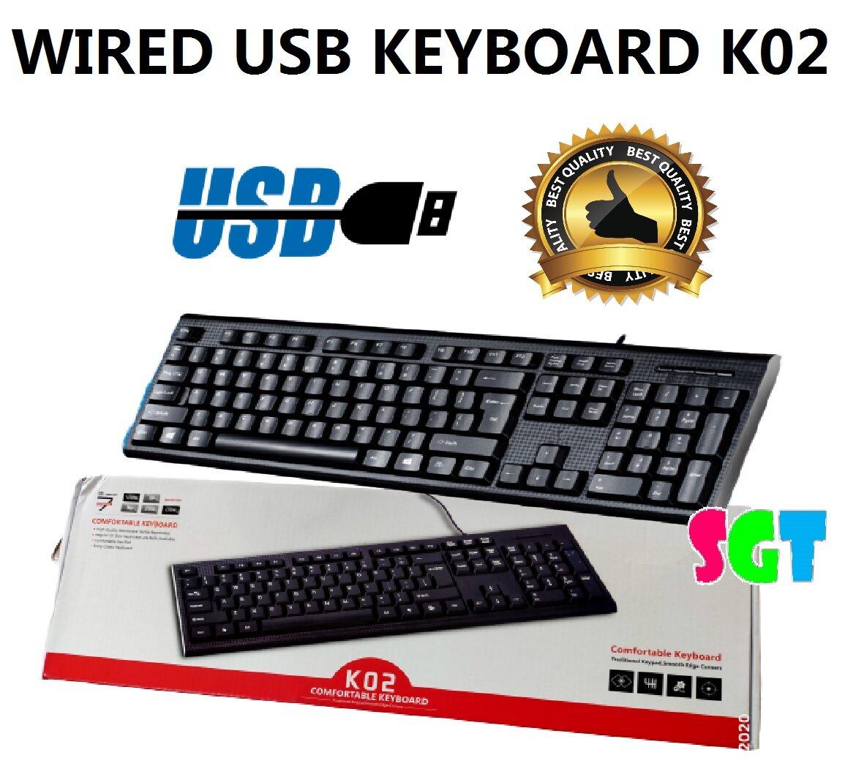 Wired USB Keyboard K02