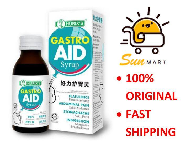 Hurix's Gastro Aid Syrup 100ml