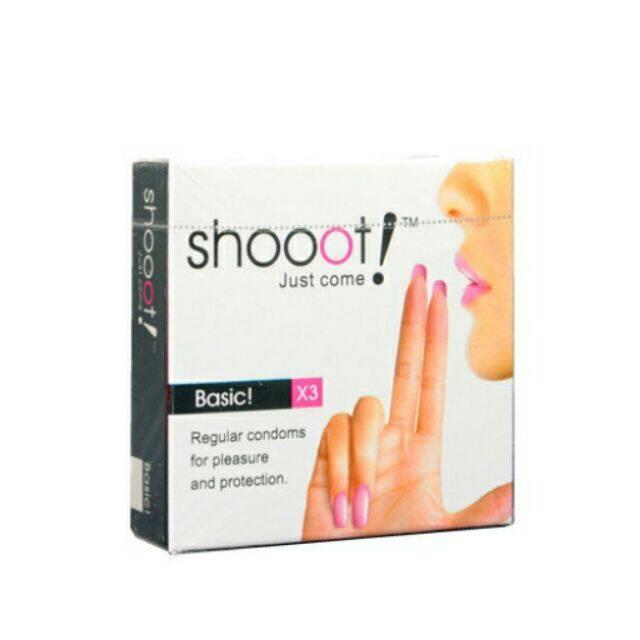SHOOOT Condom 3's - Basic