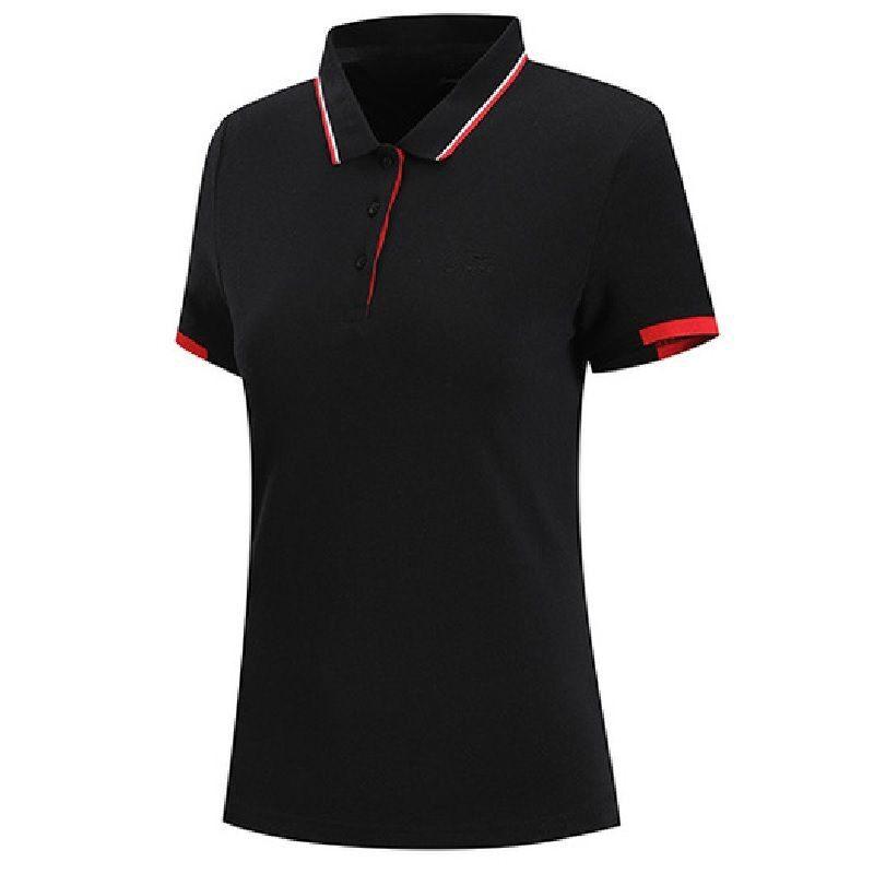 Li-Ning Sports Fashion Series Women's Short Sleeve Polo - Black APLN134-5