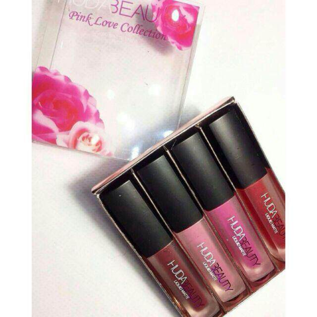 FREE GIFTNude / Pink Liquid Matte Set Collection lipstick
