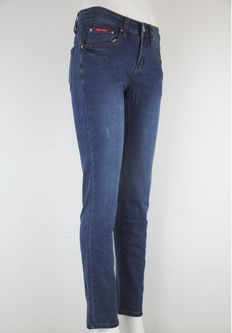 GOGGLES Ladies Denim Jeans Regular Fit Dark Blue 100361