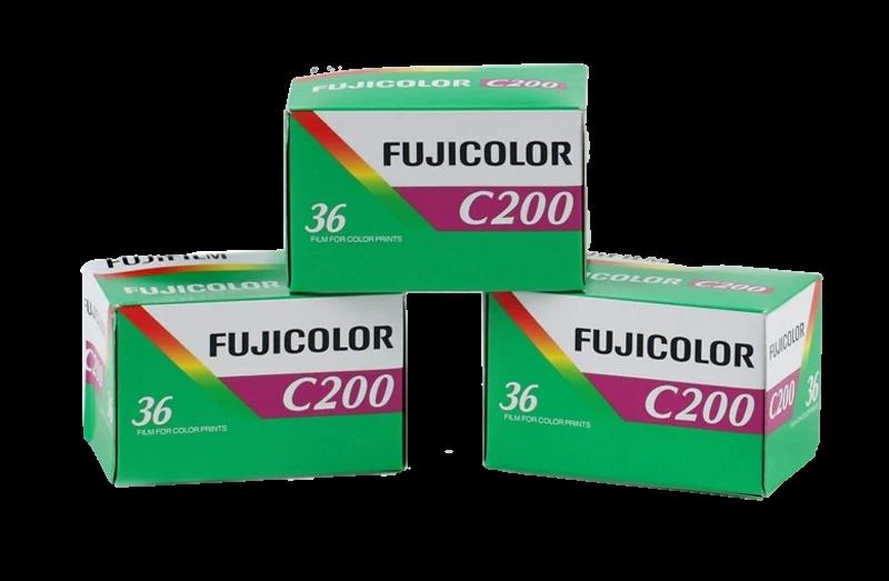FUJIFILM Fujicolor 200 Color Negative Film (35mm Roll Film, 36 Exposures)