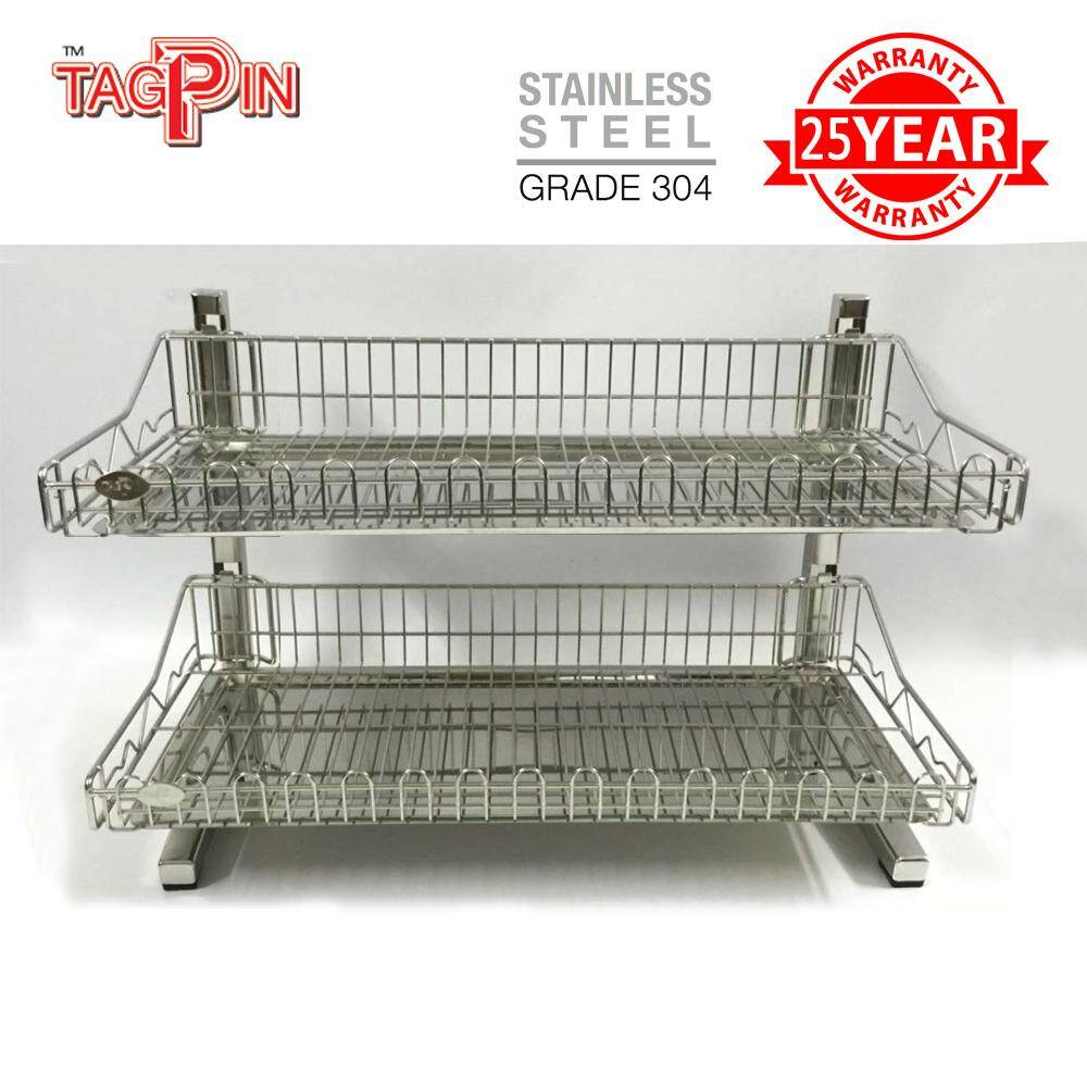 304 Stainless Steel Dish Rack - Tagpin TPBLS5602