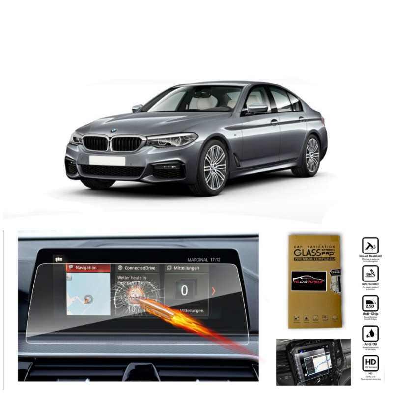BMW 5 Series G30 520i / 530i / 530e Head Unit Navigation Screen Protector Tempered Glass