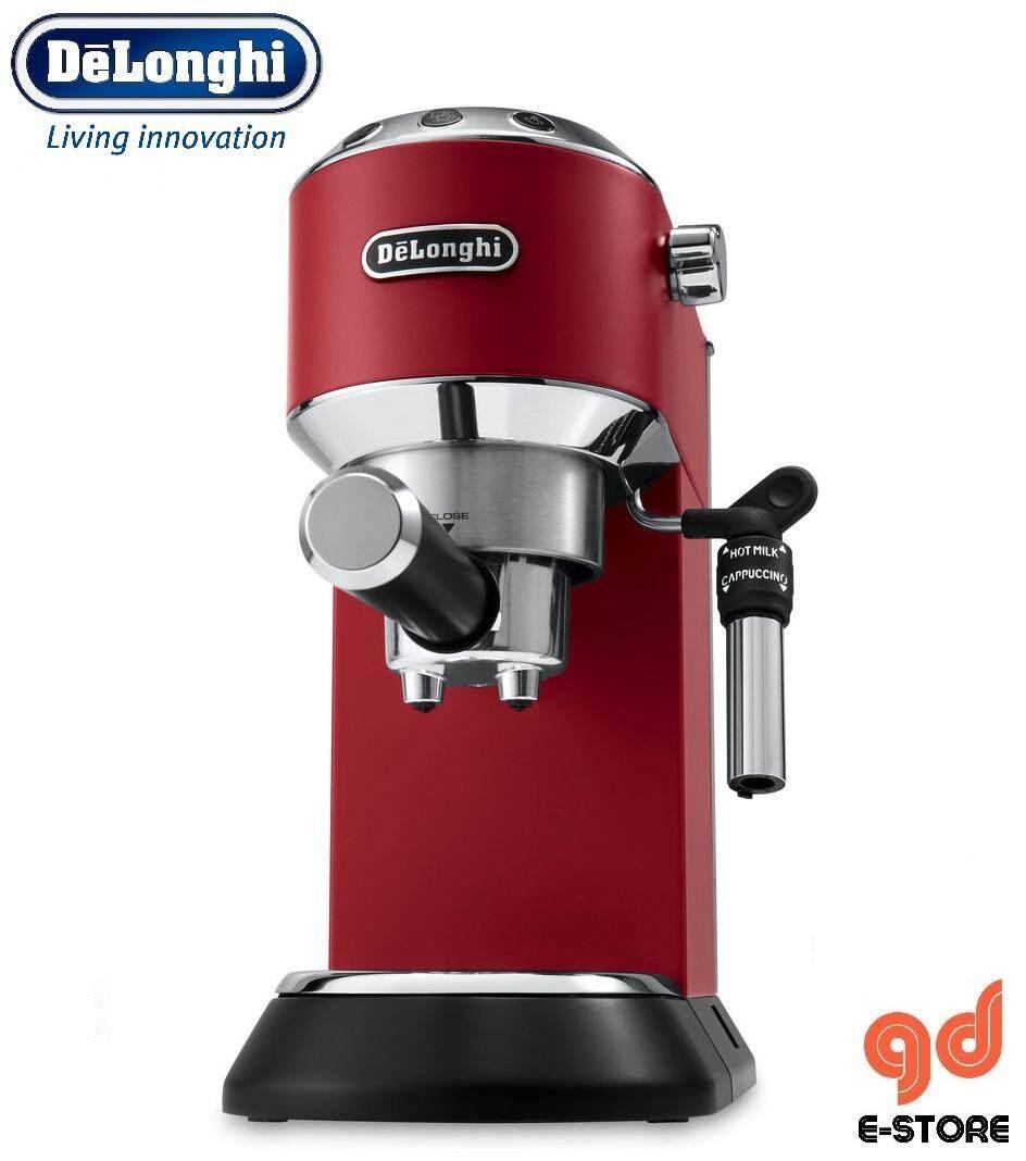 DeLonghi Dedica Style Espresso Coffee Maker EC685R Pump (Red)