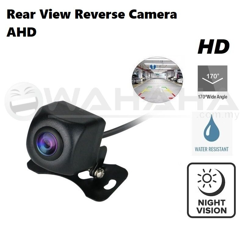 Car Rear View Reverse Camera Parking Camera AHD 170 Degree Wide Angle HD Camera