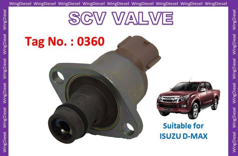 Common Rail Diesel Fuel Pump Suction Control Valve SCV for Mitsubishi Triton and Nissan Navara and Isuzu D-Max Tag no. 0360 100% New