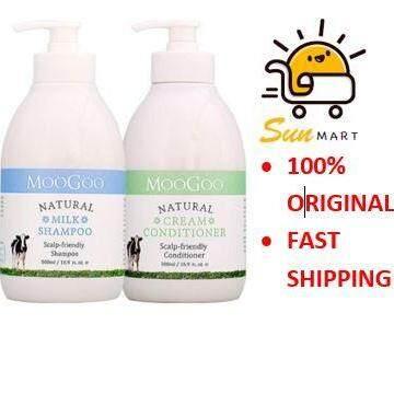 MooGoo Milk Shampoo 500ml + Moogoo Cream Conditioner 500ml