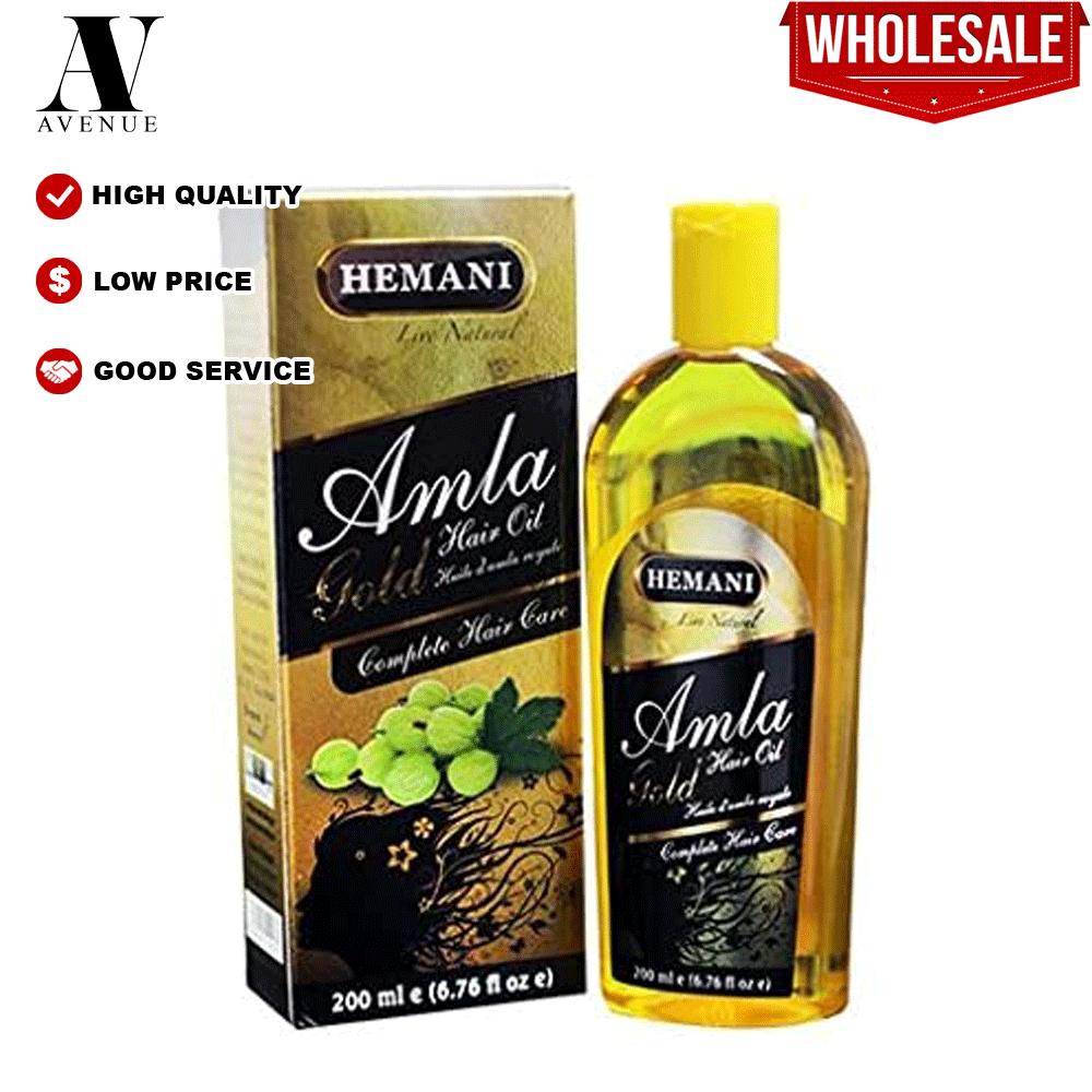 Hemani Amla Gold Hair Oil 200 ML Complete hair care زيت الشعر أملا الذهبي