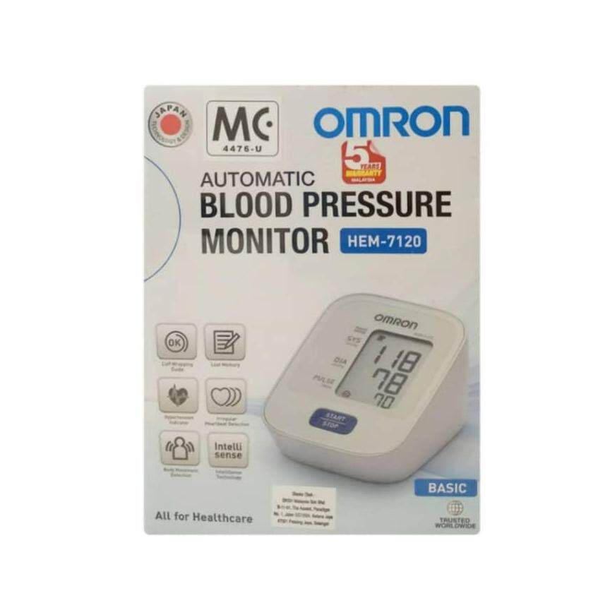 Omron Automatic Blood Pressure Monitor Basic HEM-7120