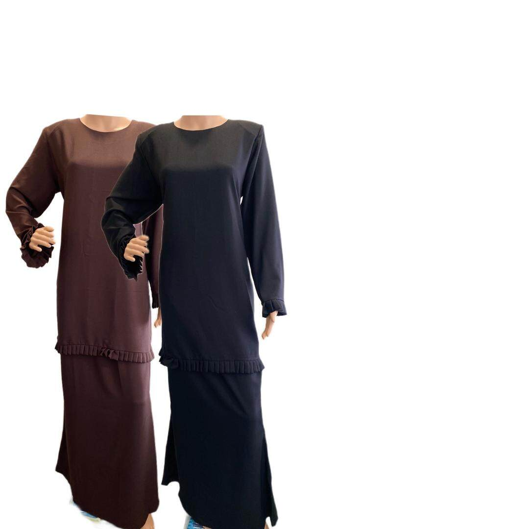 New Collection Baju Kurung Moden Pleated/READY STOCK 2020