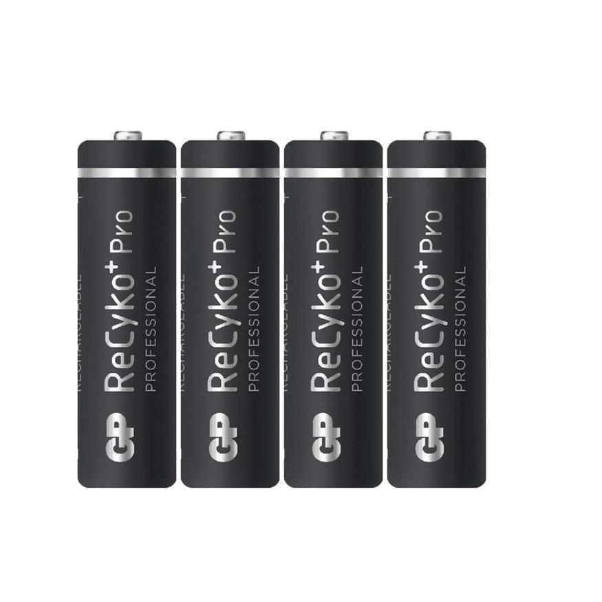 GP(GP210AAHCB-C4) Recyko + Rechargeable AA 4pcs 2000mAh battery