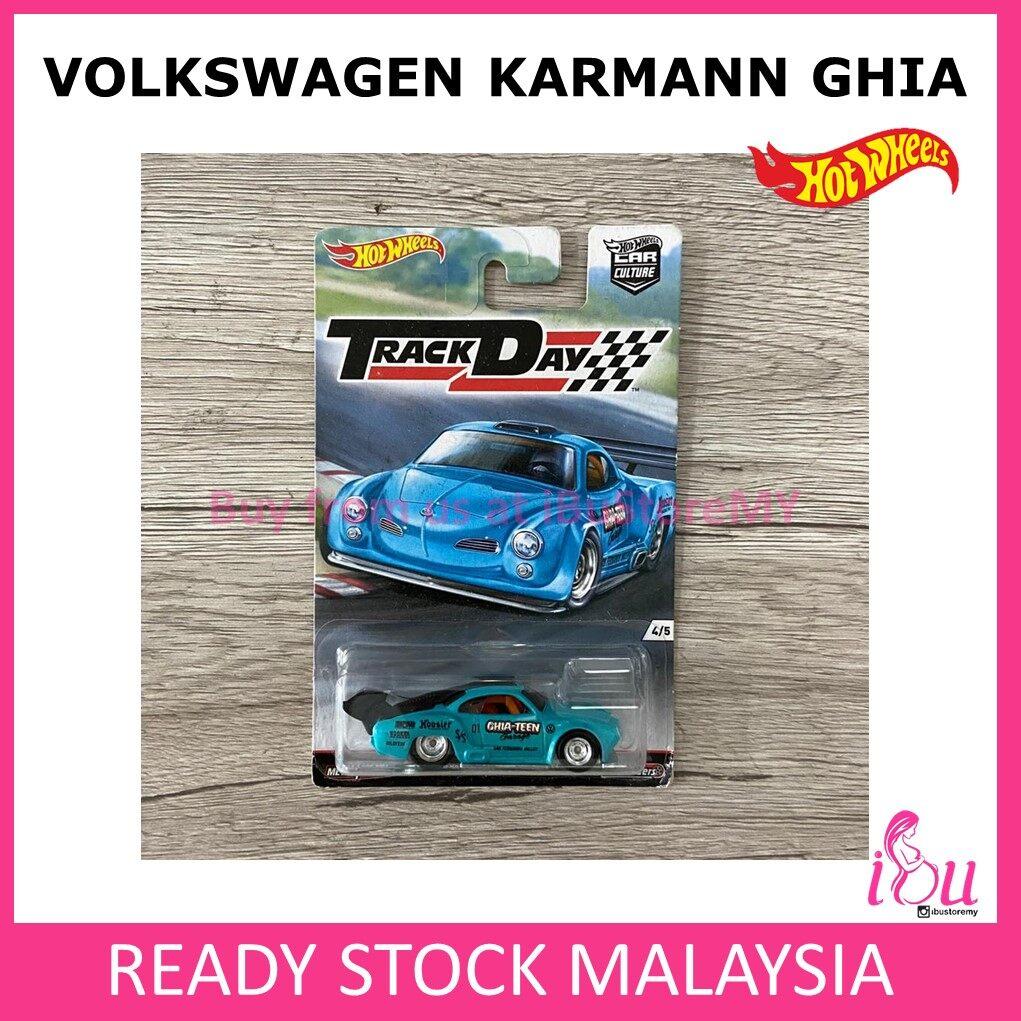 Hot Wheels Track Day Volkswagen Karmann Ghia Hotwheels