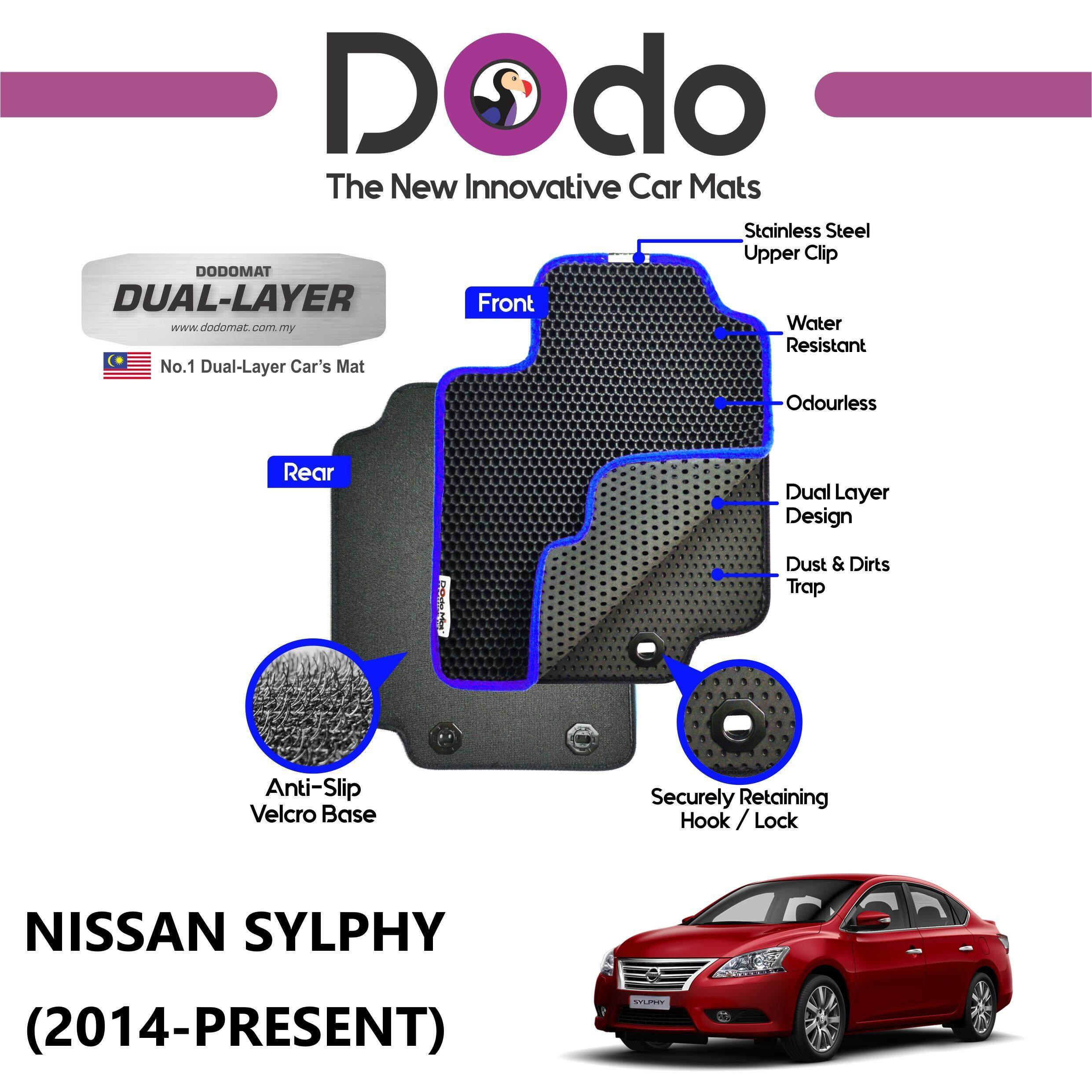 DODOMAT Car Mat NISSAN SYLPHY (2014-PRESENT) Model STANDARD