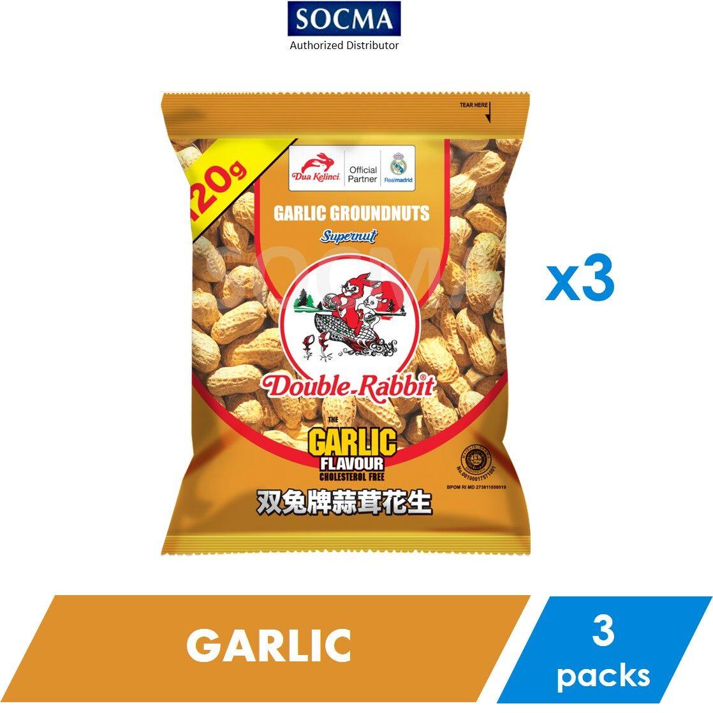 Supernut Garlic Groundnuts 120g [3]
