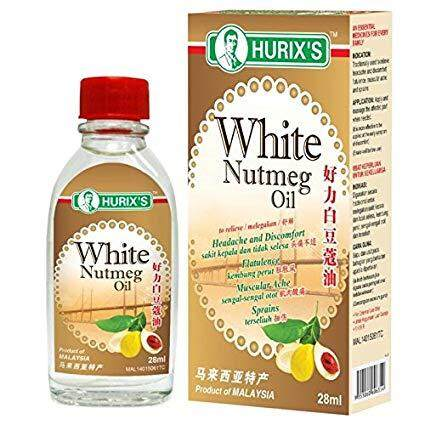 HURIX'S WHITE NUTMEG OIL 28ML