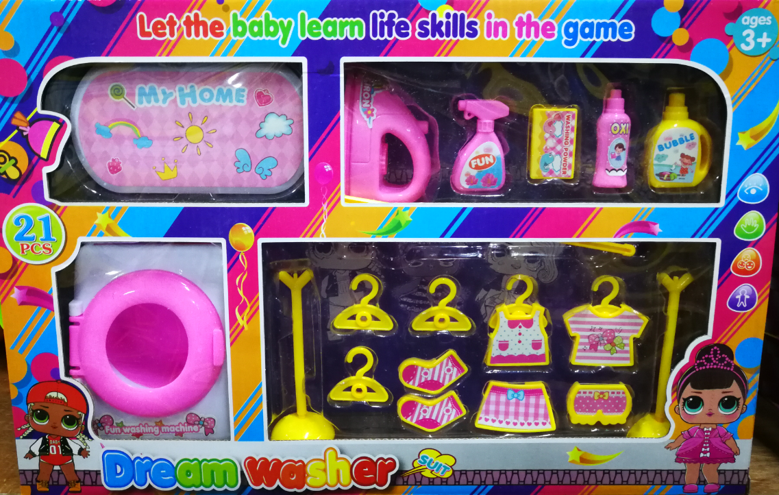 Dream Washer Machine Toys Set for girls