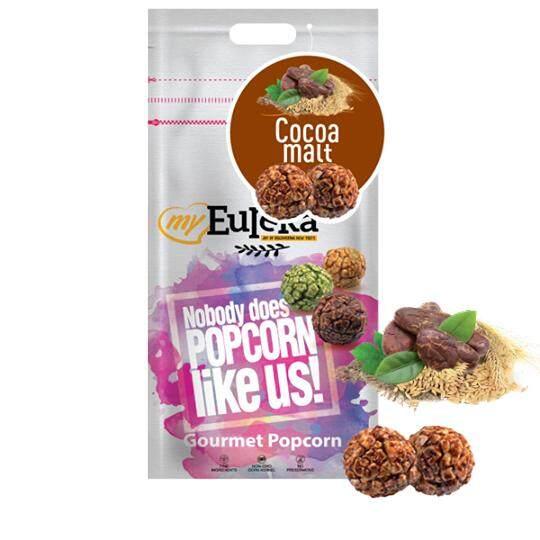 Eureka Cocoa Malt Popcorn Snack (Aluminium Pack)