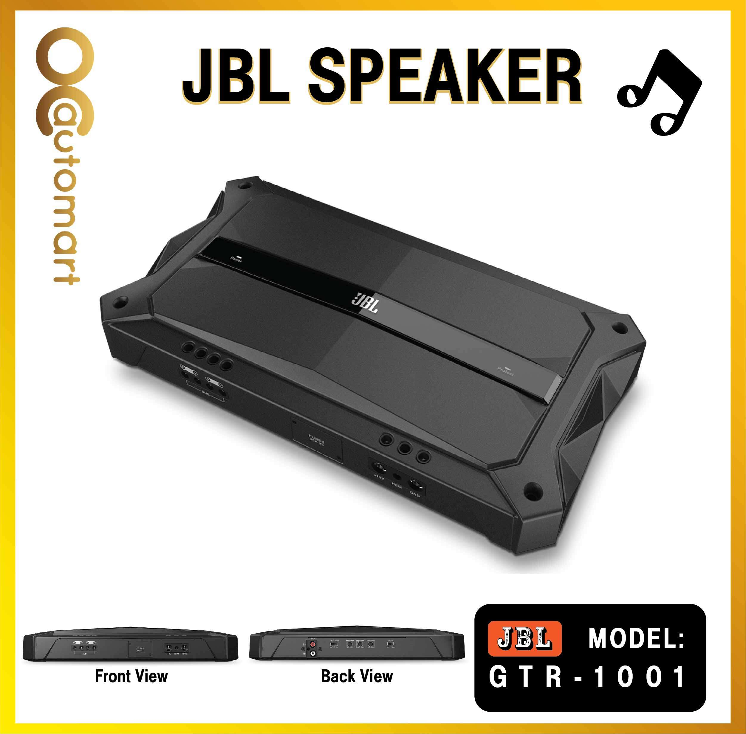 JBL GTR-1001 Mono subwoofer amplifier 1,000 watts RMS x 1 at 2 ohms