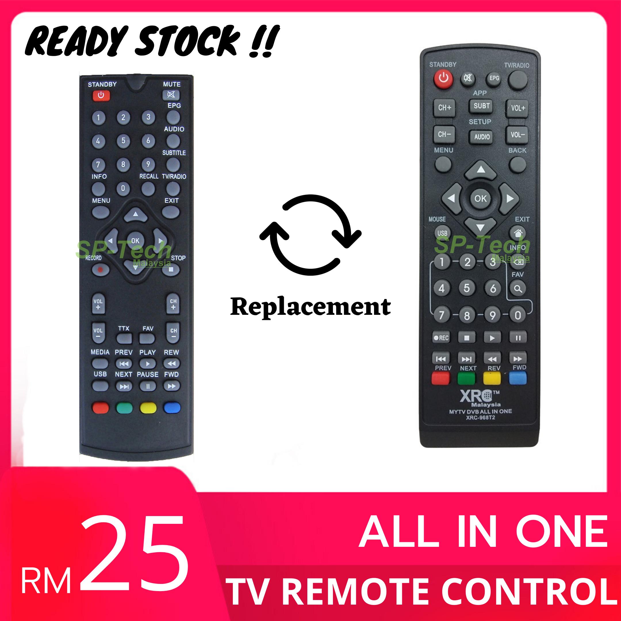 REMOTE CONTROL XRC DVB