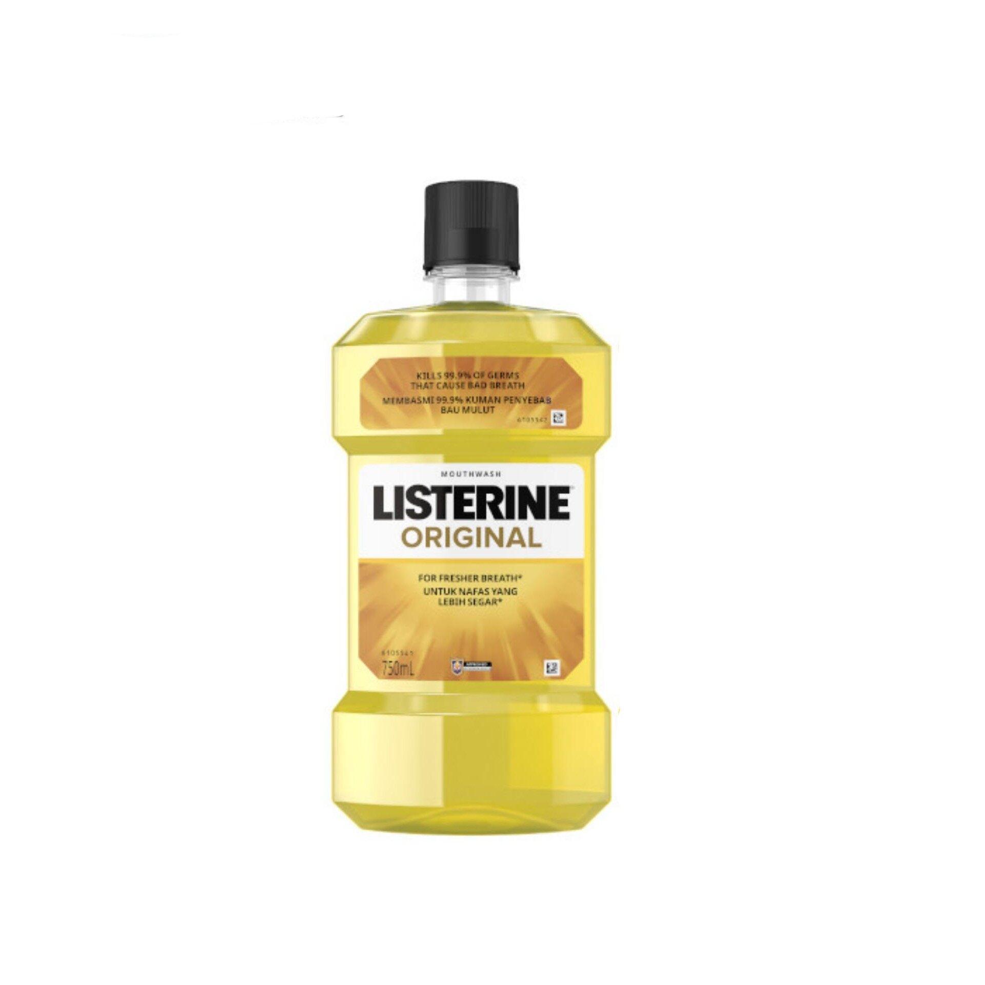 LISTERINE Mouthwash 750ml - Original