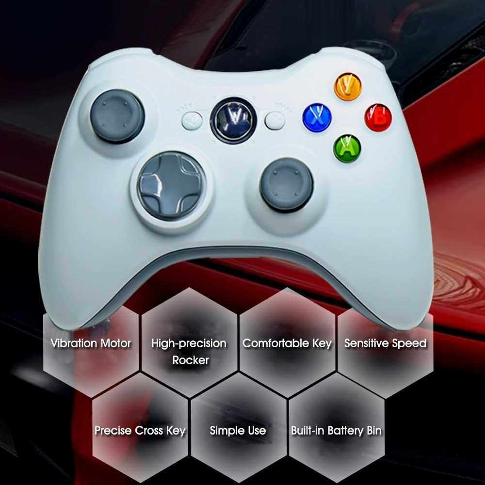 Best Selling 360 Wired Game Joystick Computer Laptop PC Game Controller Console Game Pad Joypad Win 10 Games Accessories (Black)