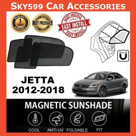 Volkswagen Jetta 2012-2020 Epic Magnetic Sunshade [4 PCS]