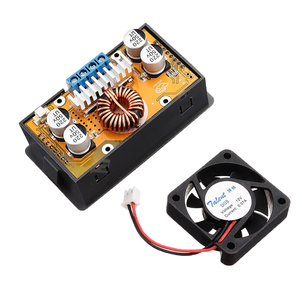 Gauges & Meters - DC-DC DC 6-32V to 0-32V 5A 160W LCD Digital Step Down Buck Converter Adjustable Potentiometer - Car Accessories